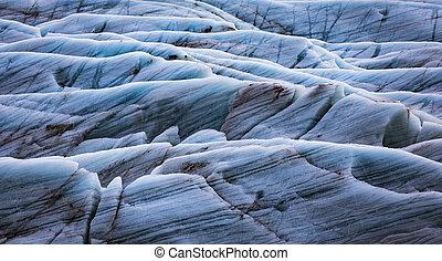 Background texture of glacier