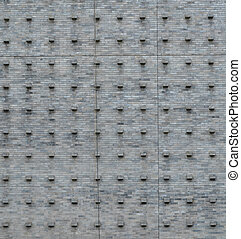 Background texture of gray tile wall