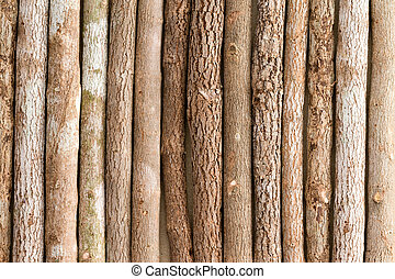 Background texture of natural wood pencil crayons
