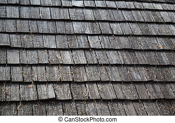 Background Texture of Old Roof