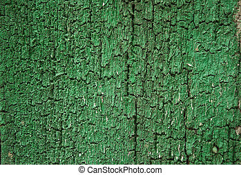background texture old shabby green paint on the blackboard