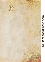 background-texture, ptáček