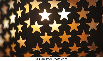 background texture with light stars