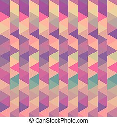 background triangle vector geometric vintage color