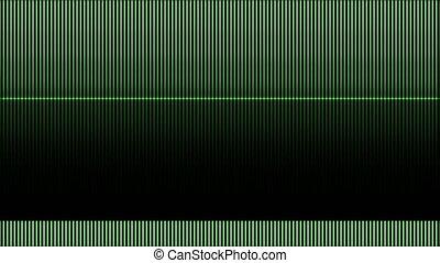 background tv line green 4k
