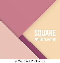 Background Unusual modern material design