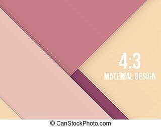 Background Unusual modern material design