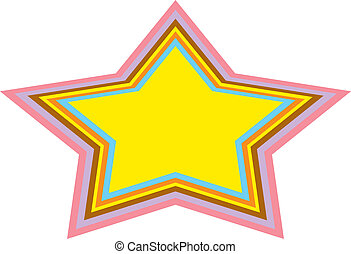 Background Urban Star Clip Art - Background of urban or...
