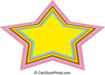 Background Urban Star Clip Art - Background of urban or...