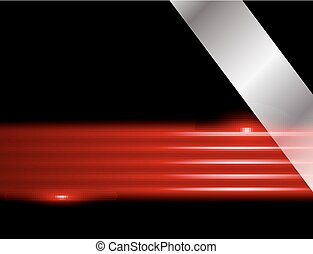 background vector abstract on black