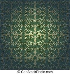 Background vector baroque ,vintage