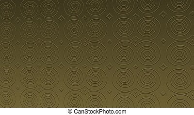 Background video footage with gold patterns and textures for video composing