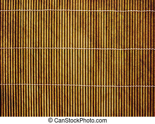 Japanese reed mat - Background - volumetric Japanese reed...