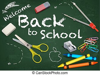 Background Welcome Back to School