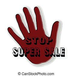 stop super sale