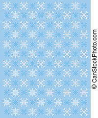 Background Winter Snowflakes Clip - Background of Winter...