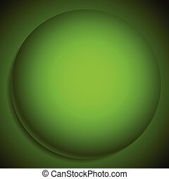 Background with 3d sphere. Abstract monochrome llustration of a 3d sphere, orb