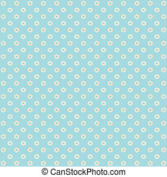 Background with a flower pattern - Vector flower background