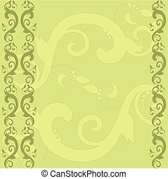 background with a pattern and border
