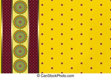 background with a patterned circles