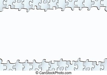 background with a strip of the puzzle