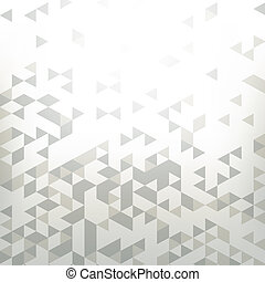 background with abstract geometry, triangle - Abstract...