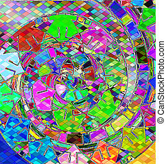 background with abstract image of variation color abstract...