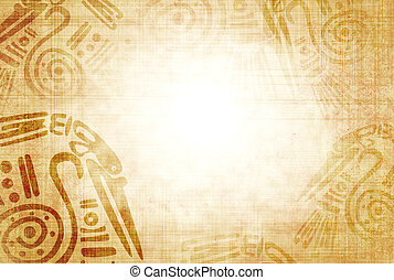 American Indian traditional patterns - Background with ...