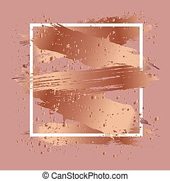 antic gold strokes - Background with antic gold strokes,...