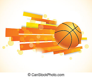 Background with ball