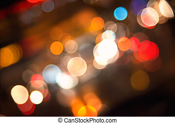 background with blurred lights
