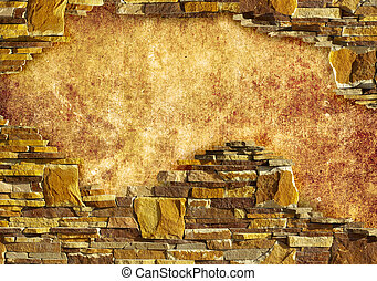 background with brick
