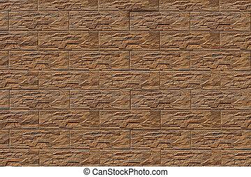 brown stone tiles