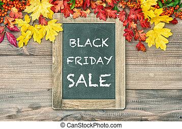 Background with cblackboard Black Friday Sale