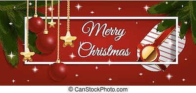 Background With Christmas Elements vector eps 10 design