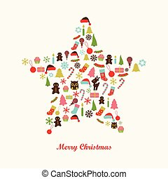 background with christmas star