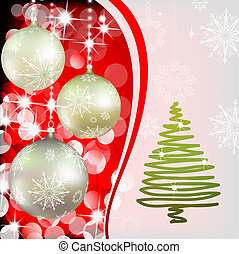 Background with Christmas