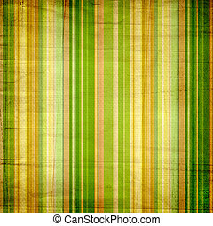Background with colorful green, yellow and white stripes