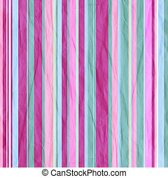 Background with colorful pink and cyan stripes