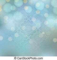 Background with crochet pattern