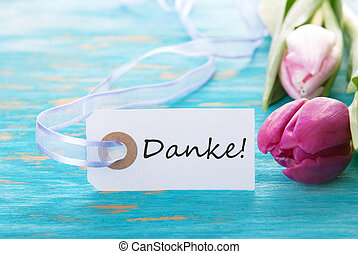 Background with Danke