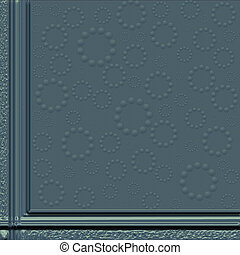 background with decorative border
