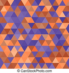 Vector seamless pattern. Multicolor triangles.