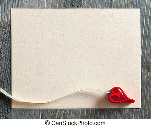 Background with decorative heart