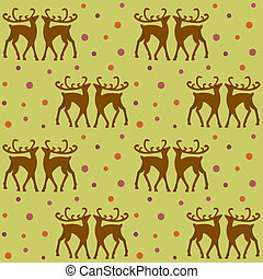 background with deers