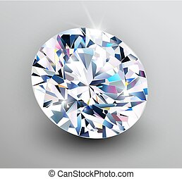 Background with diamond