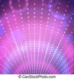 Background with disco lights.