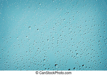 Background with droplets of water
