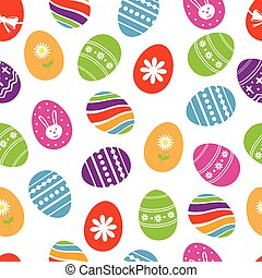 Background with Easter eggs.