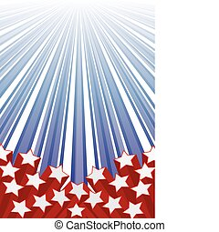 Background with elements of USA flag, vector illustration eps 10.0